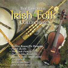 Album cover for The Essential Irish Folk Collection